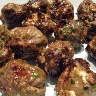 Lazy Lamb Meatballs