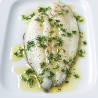 Roasted Wild Sole and Spicy Spanish Ragout