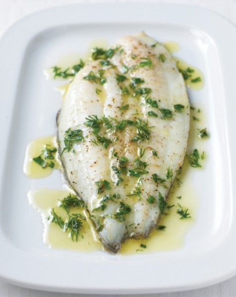 roasted sole fillet