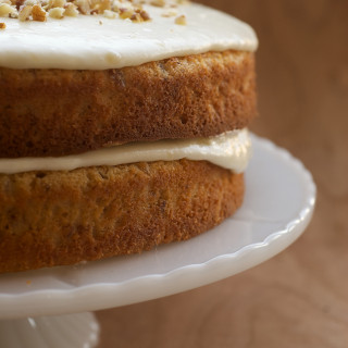 Banana Cream Spice Cake